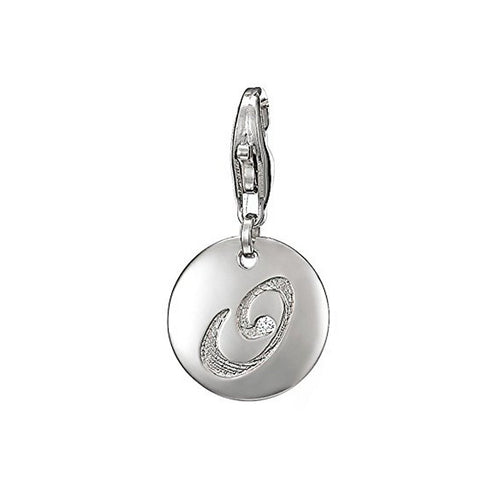 Esprit Anhänger Charms Silber Letter O ESZZ90835A000