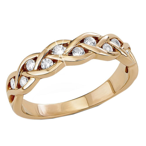 s.Oliver Jewel Damen Ring Silber 925 rosé Zirkonia SO1007