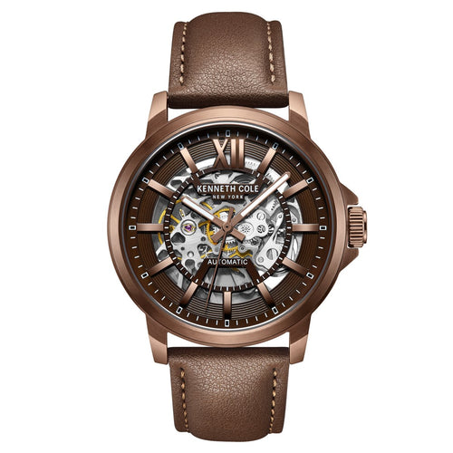 Kenneth Cole New York Herren-Armbanduhr Automatik KC50779004