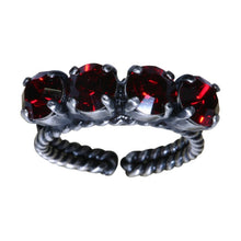 Laden Sie das Bild in den Galerie-Viewer, Konplott Ring Colour Snake rot Siam SS 29