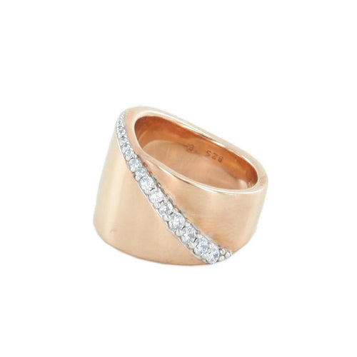 Esprit Collection Damen Ring Roségold Zirkonia Phanes Gr.18 ELRG92408C180-1