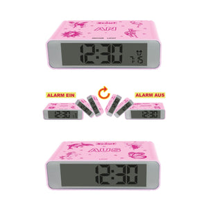 Scout Kinder Wecker Digital Alarm The Digi Clock Mädchen Pink 280001025