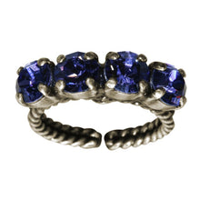 Laden Sie das Bild in den Galerie-Viewer, Konplott Ring Colour Snake lila Tansanit SS 29