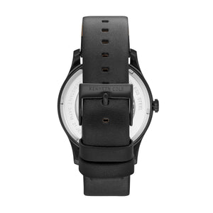 Kenneth Cole New York Herren-Armbanduhr Automatik Leder KC15110002
