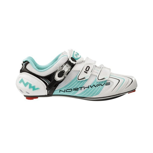 Schuhe Northwave Evolution SBS Road 2012/13 white/light blue Gr.44