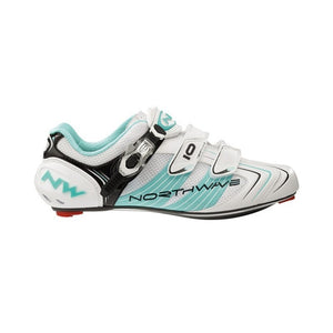 Schuhe Northwave Evolution SBS Road 2012/13 white/light blue Gr.46