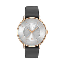 Laden Sie das Bild in den Galerie-Viewer, Kenneth Cole New York Herren Uhr Armbanduhr Leder KC15097002