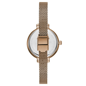Kenneth Cole New York Damen-Armbanduhr Analog Quarz Edelstahl KC50065006