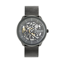 Laden Sie das Bild in den Galerie-Viewer, Kenneth Cole New York Herren-Armbanduhr Automatik KC50565001