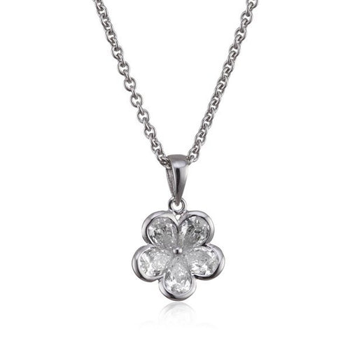 s.Oliver Jewel Damen Kette Collier Silber Zyrkonia SO724/1 - 398480