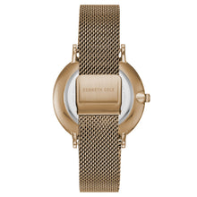 Laden Sie das Bild in den Galerie-Viewer, Kenneth Cole New York Herren-Armbanduhr Analog Quarz Edelstahl KC15183002