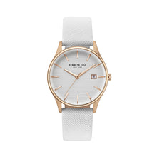 Laden Sie das Bild in den Galerie-Viewer, Kenneth Cole New York Damen Uhr Armbanduhr Leder KC15109002