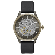 Laden Sie das Bild in den Galerie-Viewer, Kenneth Cole New York Herren-Armbanduhr Automatik Leder KC15171004