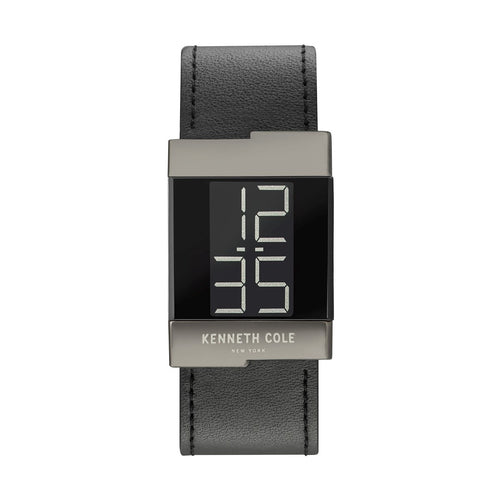 Kenneth Cole New York Damen Uhr Armbanduhr Leder digital KCC0168002