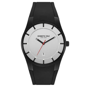 Kenneth Cole New York Herren-Armbanduhr Analog Quarz Silikon 10031266
