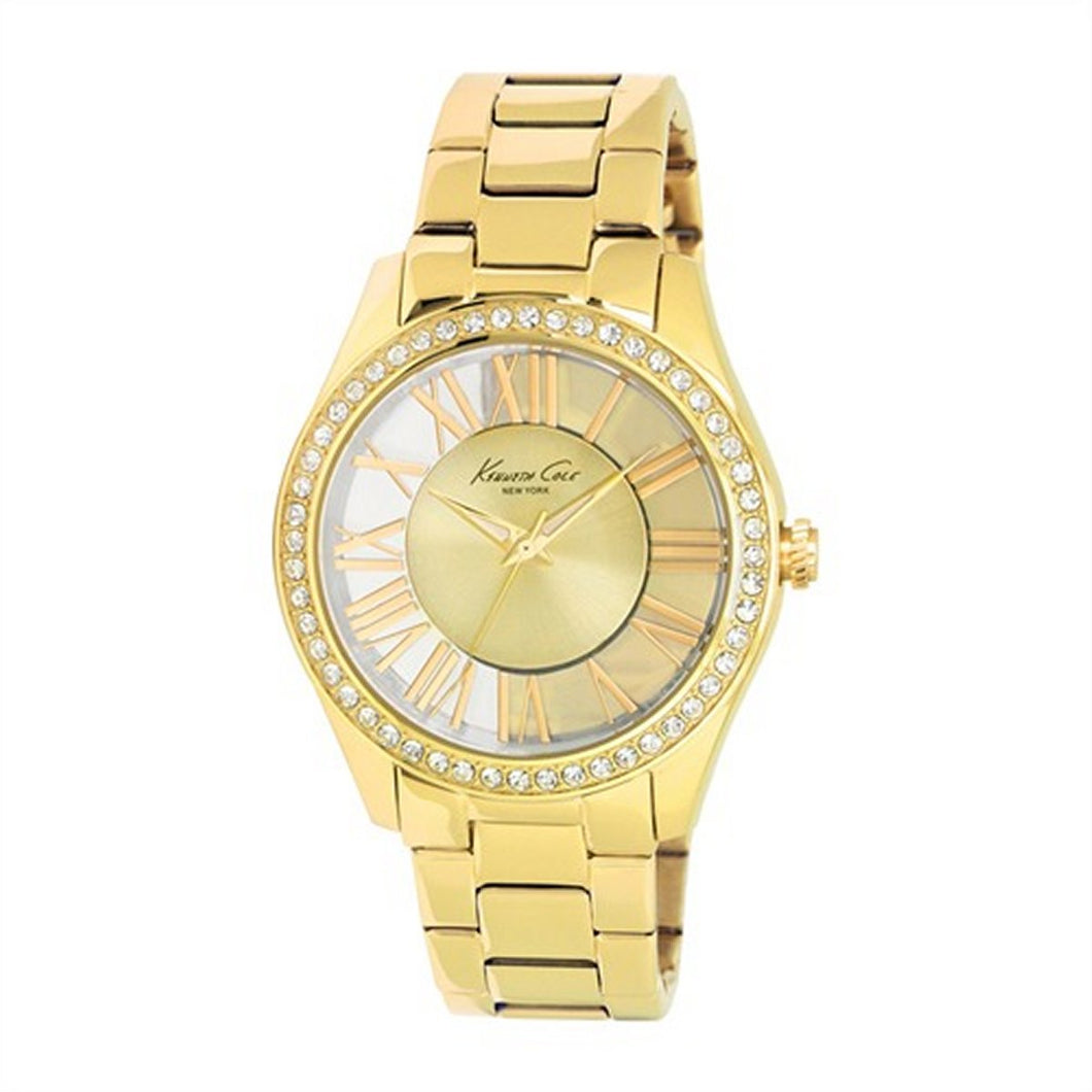 Kenneth Cole New York Damen-Armbanduhr Analog Edelstahl KC4853