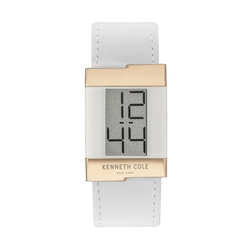 Kenneth Cole New York Damen Uhr Armbanduhr Leder Digital KCC0168004