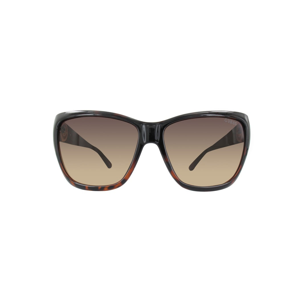 Guess Damen Sonnenbrille GU7374-TO-57 TORTOISE / GRADIENT BROWN LENS