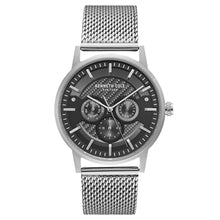Laden Sie das Bild in den Galerie-Viewer, Kenneth Cole New York Herren-Armbanduhr Analog Quarz Edelstahl KC15203003
