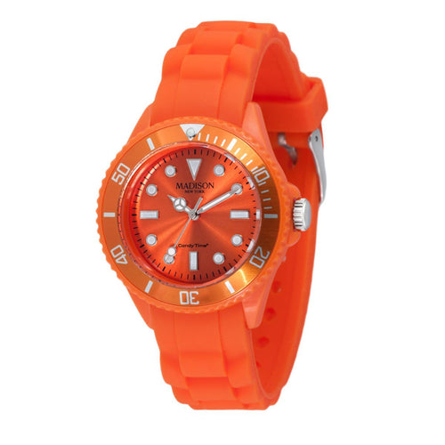 Candy Time by Madison N.Y. Uhr Mini L4167-04 orange