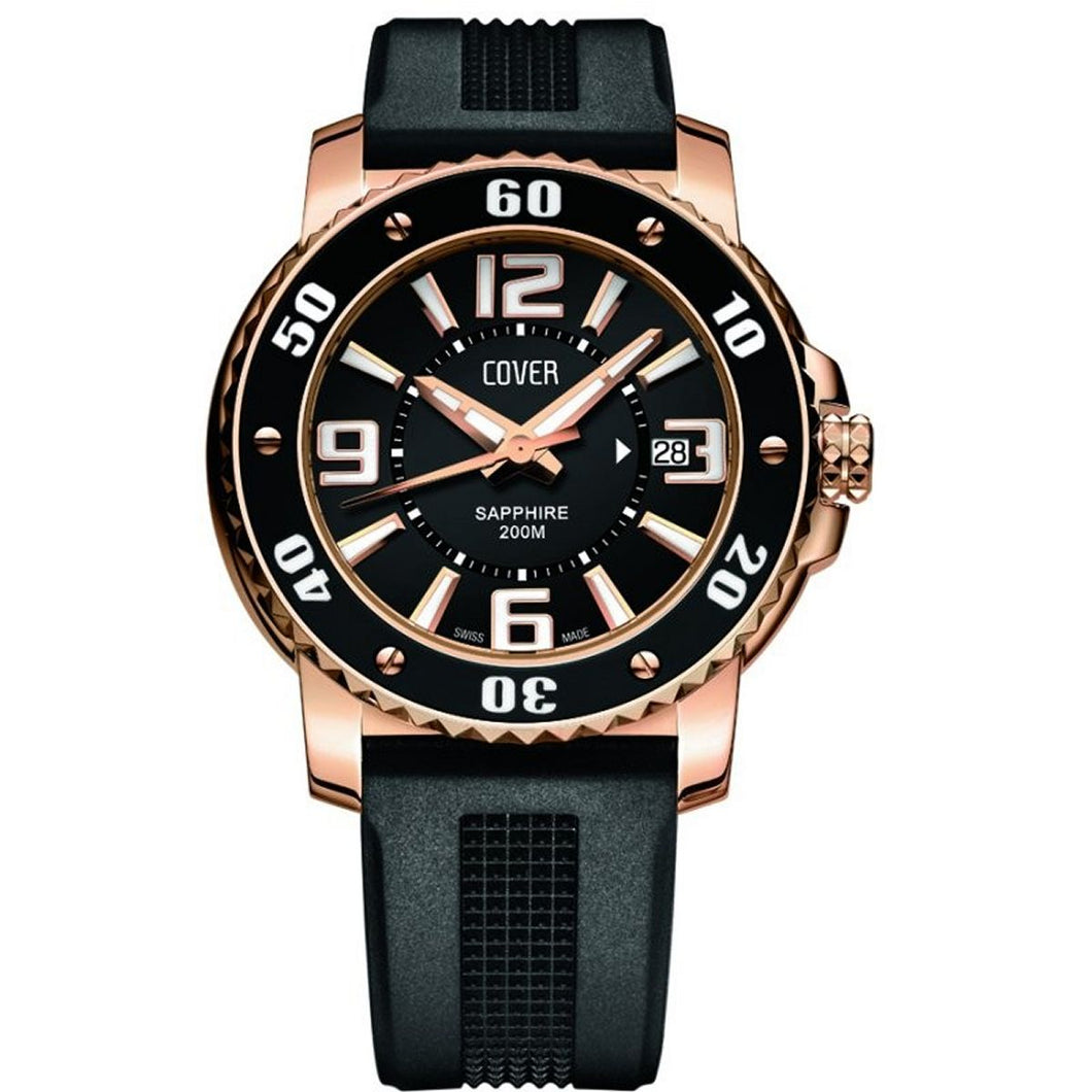 Cover Herren Uhr Armbanduhr  Co145.RPL1RUB