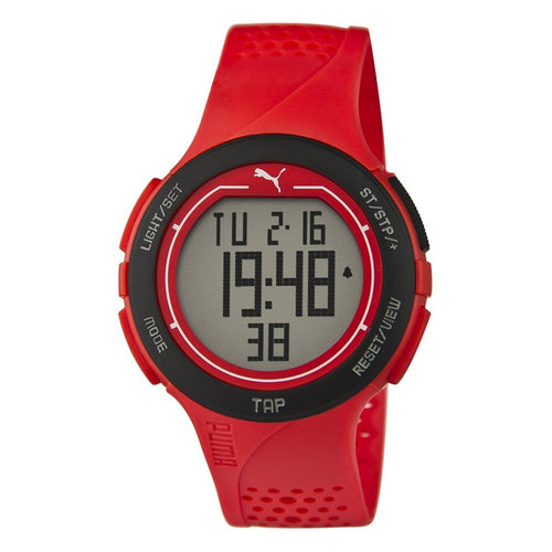 Puma Uhr Armbanduhr Unisex Touch Red Black Digital PU911211002