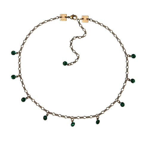 Konplott Kette Collier Tutui Collection grün emerald silber