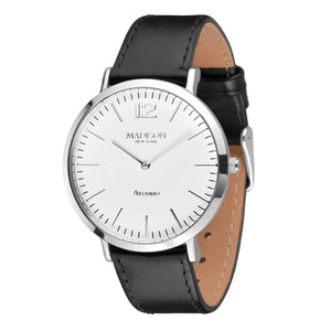 MADISON NEW YORK Damen Uhr Armbanduhr Avenue Leder L4741C