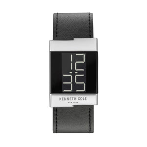 Kenneth Cole New York Damen Uhr Armbanduhr Leder digital KCC0168001