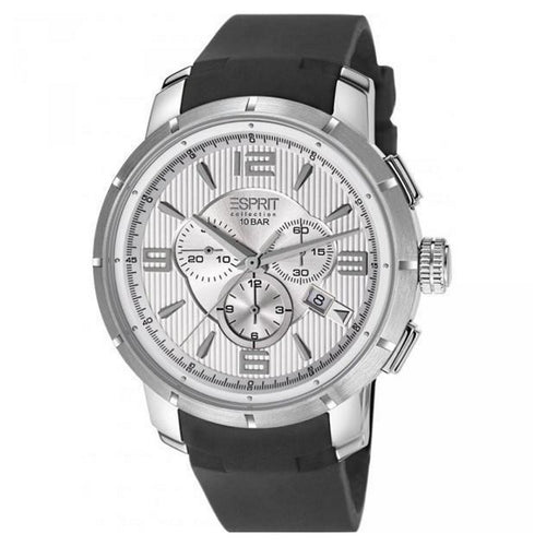 Esprit Collection Herren Uhr Armbanduhr Chrono Ourea Day Silikon EL101921F01