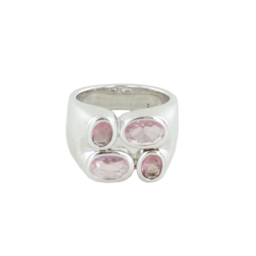 Esprit Damen Ring Silber Radiant Purple Pink  ESRG90861A1