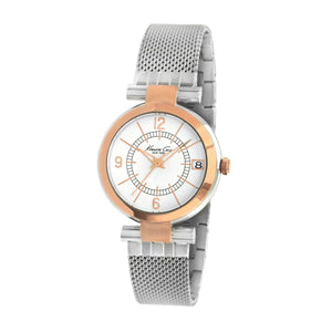 Kenneth Cole New York Damen-Armbanduhr Analog Edelstahl 10008038 / KC4869