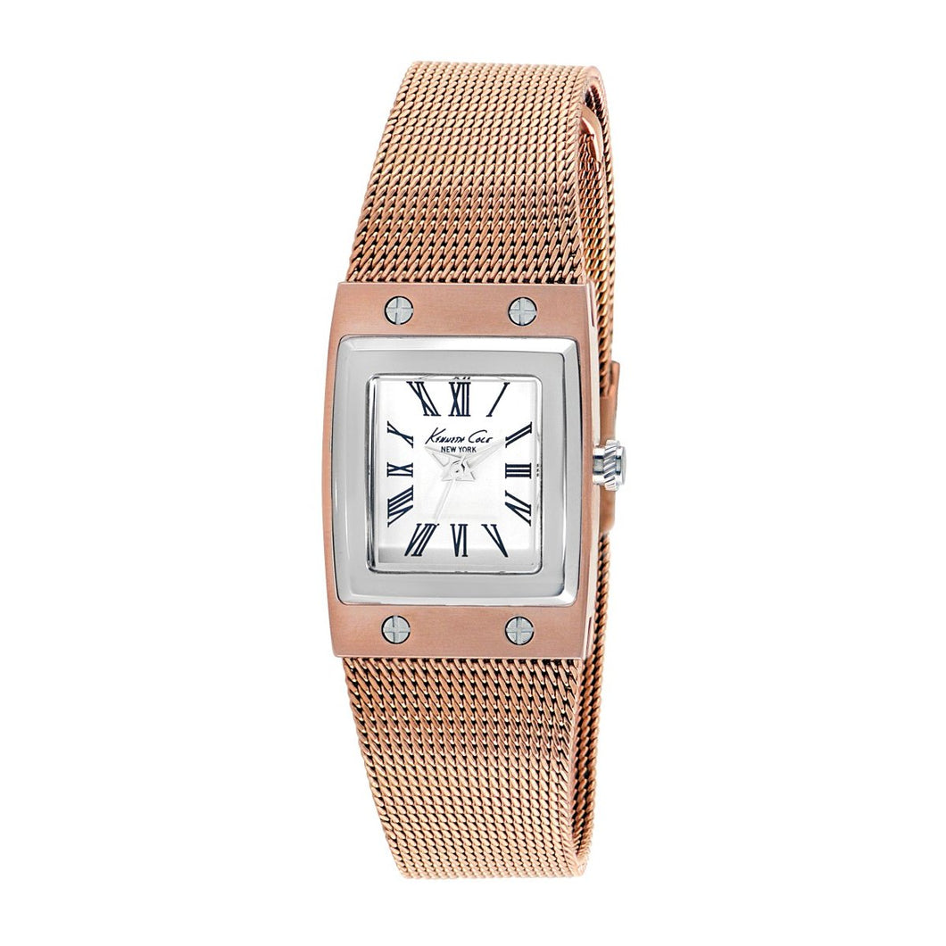 Kenneth Cole New York Damen-Armbanduhr Analog Edelstahl 10008099 / KC4946