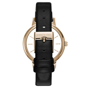 Kenneth Cole New York Damen-Armbanduhr Analog Quarz Leder KC15172004