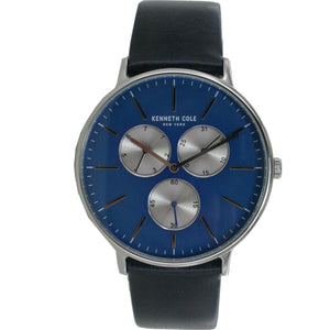 Kenneth Cole New York Herren Uhr Armbanduhr Leder 10031463