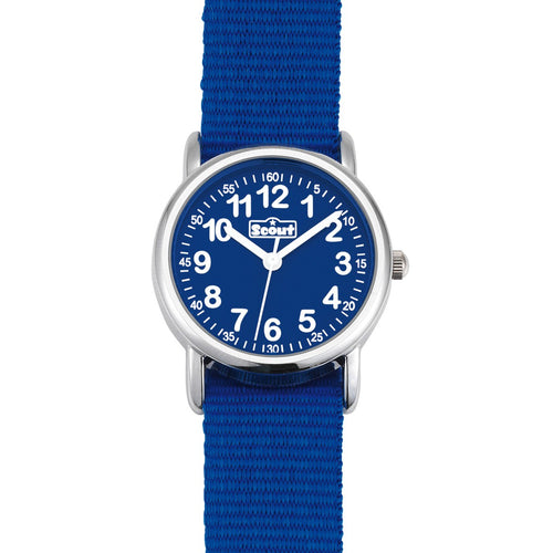 Scout Kinder Uhr Lernuhr Start Up - Cool Blue Jungenuhr 280304000