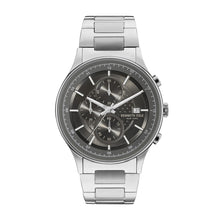 Laden Sie das Bild in den Galerie-Viewer, Kenneth Cole New York Herren Uhr Armbanduhr Chrono Edelstahl KC15101001