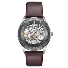 Laden Sie das Bild in den Galerie-Viewer, Kenneth Cole New York Herren-Armbanduhr Automatik KC51016003 Leder