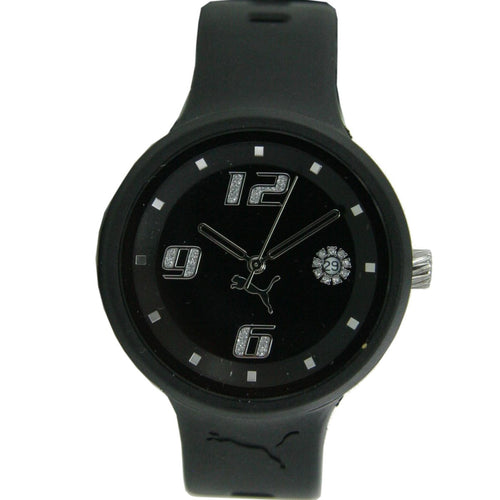 Puma Uhr Armbanduhr Damen Slick Ladies 3HD Black PU910672001