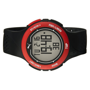 Puma Uhr Armbanduhr Unisex Touch Black Red Digital PU911211001