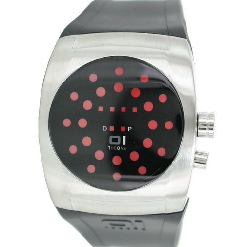 The One Binary Uhr Herrenuhr Screw Me Watch - SW102R3