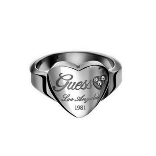 Guess Steel Unisex Ring USR11001