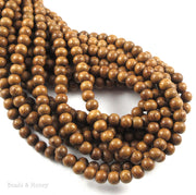 Madre de Cacao Wood Bead Round 6mm