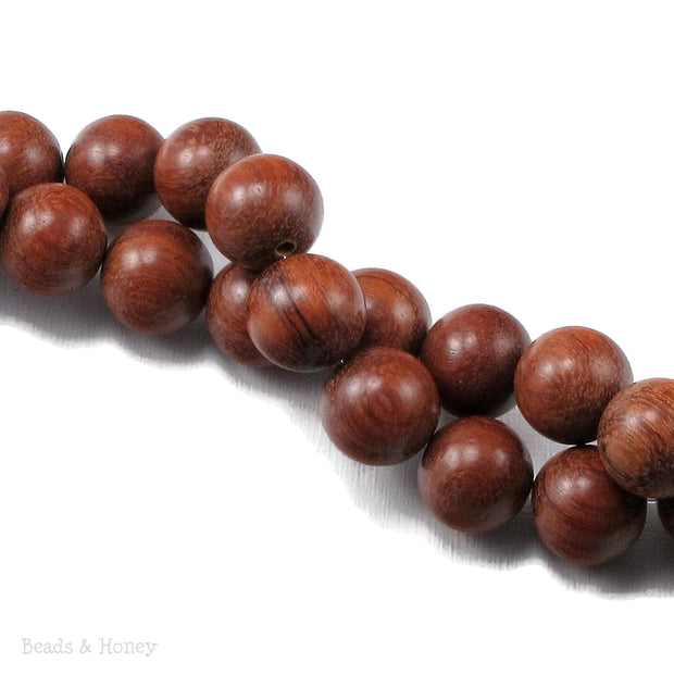 Bayong Wood Round 14-15mm (16-Inch Strand)