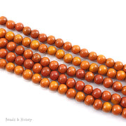 Sibucao Wood Bead Round 8mm (16-Inch Strand)
