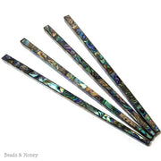Abalone Shell Inlaid Hair Stick 7 in (1pc)