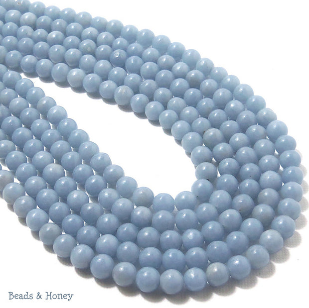 Angelite Round Smooth 6mm (Full Strand)