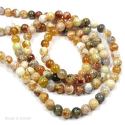 African Brandy Opal Round Smooth 6mm (16-Inch Strand)