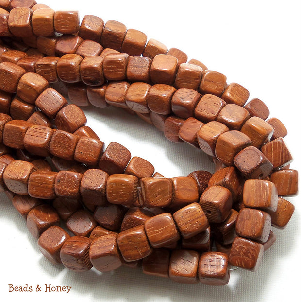 Bayong Wood Square Cube 10mm (Full Strand)