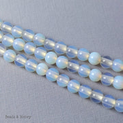 Dakota Stones Opalite Large Hole Bead Round 8mm (8-Inch Strand)